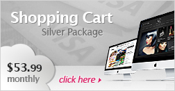 Shopping Cart Silver Package